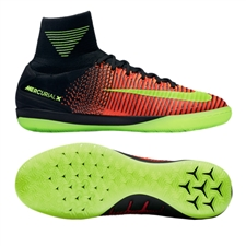 Nike MercurialX Proximo II Street IC Indoor Soccer Shoes (Total Crimson/Volt/Black/Pink Blast)