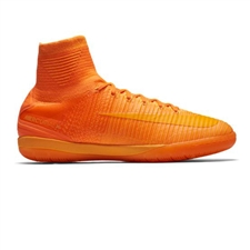Nike MercurialX Proximo II IC Indoor Soccer Shoes (Total Orange/Bright Citrus/Hyper Crimson)