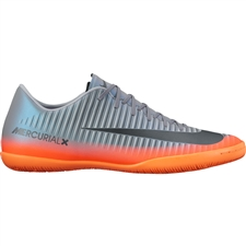 Nike Mercurial Victory VI CR7 IC Indoor Soccer Shoes (Cool Grey/Metallic Hematite/Wolf Grey)