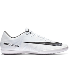 Nike MercurialX Victory VI CR7 IC Indoor Soccer Shoes (Blue Tint/Black/White)