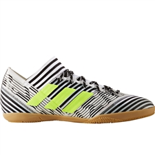 Adidas Nemeziz Tango 17.3 Indoor Soccer Shoes (White/Solar Yellow/Core Black)