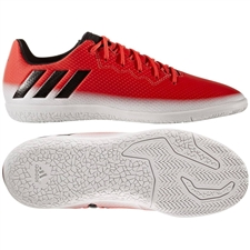 Adidas Messi 16.3 Youth Indoor Soccer Shoes (Red/Black/Running White)