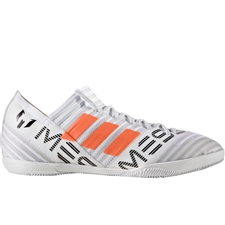 Adidas Nemeziz Messi Tango 17.3 Youth Indoor Soccer Shoes (White/Solar Orange/Core Black) |  Adidas Indoor Shoes |FREE SHIPPING| Adidas BY2419 |  SOCCERCORNER.COM