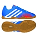 Adidas Predator Absolado LZ Youth Indoor Soccer Shoes (Pride Blue/Running White/Orange)