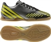 Adidas Predator LZ Youth Indoor Soccer Shoes (Black/LabLime/NeoIron Met)