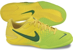 Nike5 Elastico Youth Indoor Soccer Shoes (Chrome Yellow/Electric Green/Pine Green)