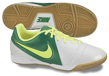 Nike CTR360 Libretto II Youth Indoor Soccer Shoes(White/Imperial Purple/Black/Metallic Silver)