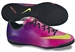 Nike Youth Mercurial Victory IV Indoor Soccer Shoes (Fireberry/Red Plum/Black/Electric Green)