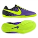 Nike FC247 Elastico II Youth Indoor Soccer Shoes (Pure Purple/Volt/Black)