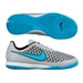 Nike Youth Magista Onda IC Indoor Soccer Shoes (Wolf Grey/Black/Turquoise Blue)