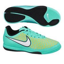 Nike Youth Magista Onda IC Indoor Soccer Shoes (Hyper Turquoise/Laser Orange/Hyper Crimson/White)