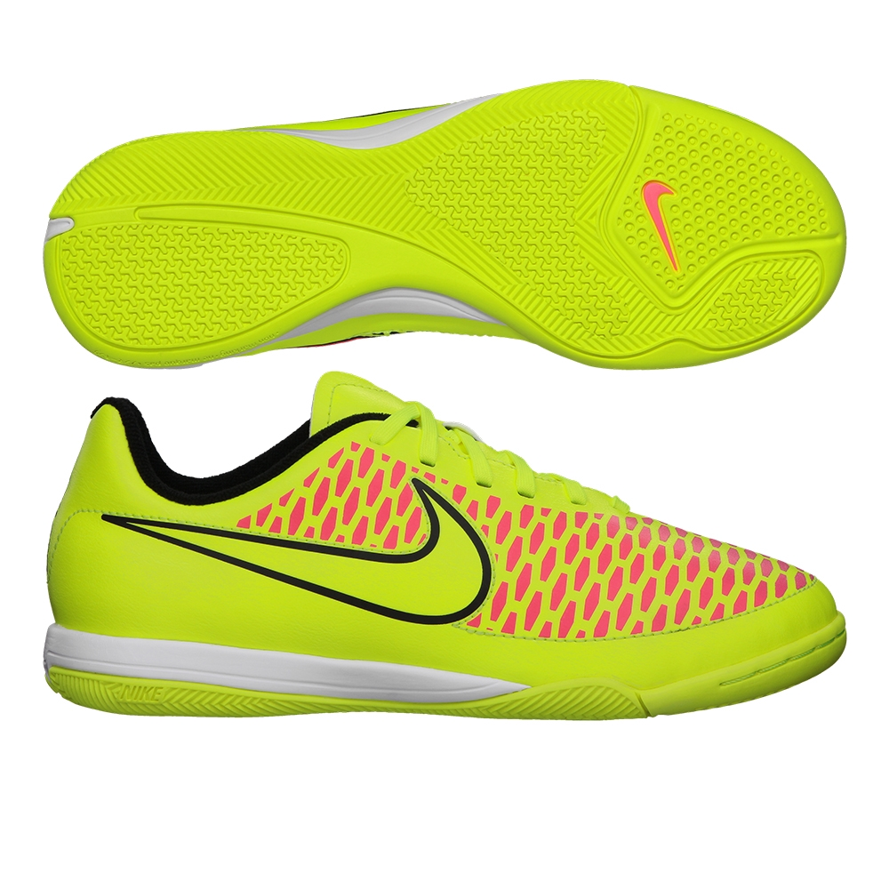 Nike Youth Magista Onda IC Indoor Soccer Shoes (Volt ...
