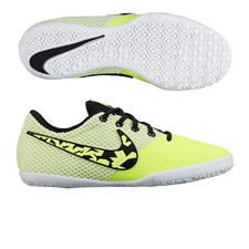 Nike FC247 Elastico Pro III IC Youth Indoor Soccer Shoes (Volt/White/Black)