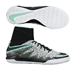 Nike Youth HypervenomX Proximo Street IC Indoor Soccer Shoes (White/Green Glow/Black)