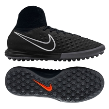 Nike Youth MagistaX Proximo II TF Turf Soccer Shoes (Black/Black Gum/Light Brown)