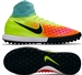 Nike Youth MagistaX Proximo II TF Turf Soccer Shoes (Volt/Black/Hyper Turquoise/Total Orange)