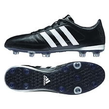 Adidas Gloro 16.1 FG Soccer Cleats (Black/White/Matte Silver)