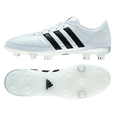 Adidas Gloro 16.1 FG Soccer Cleats (White/Black/Matte Silver)