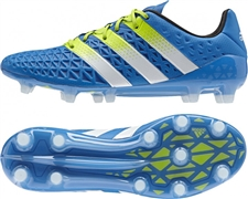Adidas ACE 16.1 FG Soccer Cleats (Shock Blue/Semi Solar Slime/White) | Adidas Soccer Cleats |FREE SHIPPING| Adidas AF5085 | SoccerCorner.com