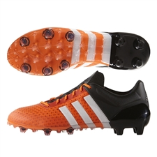 Adidas ACE 15+ Primeknit FG Soccer Cleats (Solar Orange/White/Black) | Adidas Soccer Cleats |FREE SHIPPING| Adidas AF6225