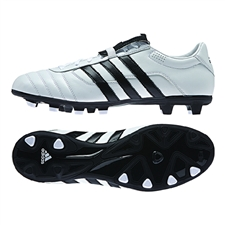 Adidas El Gloro FG Soccer Cleat (White/Black)