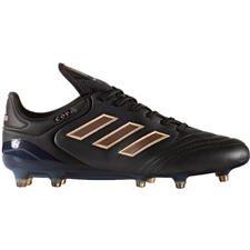 Adidas Copa 17.1 FG Soccer Cleat (Core Black/Copper Metallic)