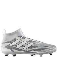 Adidas ACE 17.3 Primemesh FG Soccer Cleats (Clear Grey/White/Core Black) | Adidas Soccer Cleats |FREE SHIPPING| Adidas BB1015 | SoccerCorner.com
