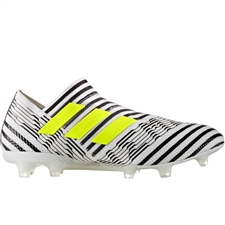 Adidas Nemeziz 17+ 360Agility FG Soccer Cleats (White/Solar Yellow/Core Black) | BB3675
