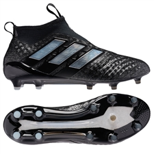 Adidas ACE 17+ PURECONTROL FG Soccer Cleats (Black/White) | BB4310