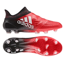 Adidas X 16+ Purechaos FG Soccer Cleats (Red/White/Black)