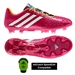 Adidas Soccer Cleats | FREE SHIPPING | F32553 | Adidas Predator LZ TRX FG Soccer Cleats (Vivid Berry/Running White/Solar Slime)