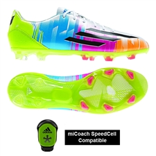 Adidas Messi F30 TRX FG Soccer Cleats (White/Black/Solar Slime)