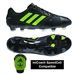 Adidas Soccer Cleats | FREE SHIPPING | F32768| Adidas Nitrocharge 1.0 TRX FG Soccer Cleats (Black/Solar Slime/Solar Slime)
