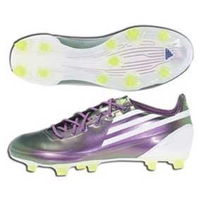 Adidas F30 TRX Synthetic Firm Ground Soccer Cleats (Chameleon Purple/White/Electricity)