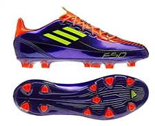 Adidas F30 TRX FG Soccer Cleats (Anodized Purple/Electricity/Infared)