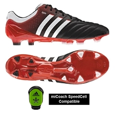 Adidas 11Pro SL TRX FG Soccer Cleats (Black/Running White/Core Energy)