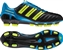 Adidas adiPower Predator TRX FG Soccer Cleats (Black/Predator Electric/Sharp Blue)