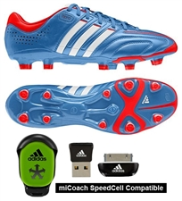 Adidas adiPure 11Pro TRX FG Soccer Cleats (Bright Blue/Running White/Infrared)