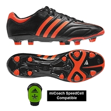 Adidas adiPure 11Pro TRX FG Soccer Cleats (Black/Infrared/Running White)