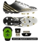 Adidas Predator LZ TRX FG Soccer Cleats (Running White/Metallic Gold/Black)