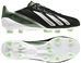 Adidas Youth F30 adizero TRX FG Soccer Cleats (Black/Running White/Green Zest)