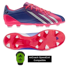 Adidas Soccer Cleats |FREE SHIPPING| Adidas G97729 | Adidas Messi F10 (Synthetic) TRX FG Soccer Cleats (Turbo/Black/Running White) |
