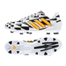 Adidas Soccer Cleats | FREE SHIPPING | M17622 | Adidas Nitrocharge 2.0 Battle Pack  TRX FG Soccer Cleats (Core White/Solar Gold/Black)