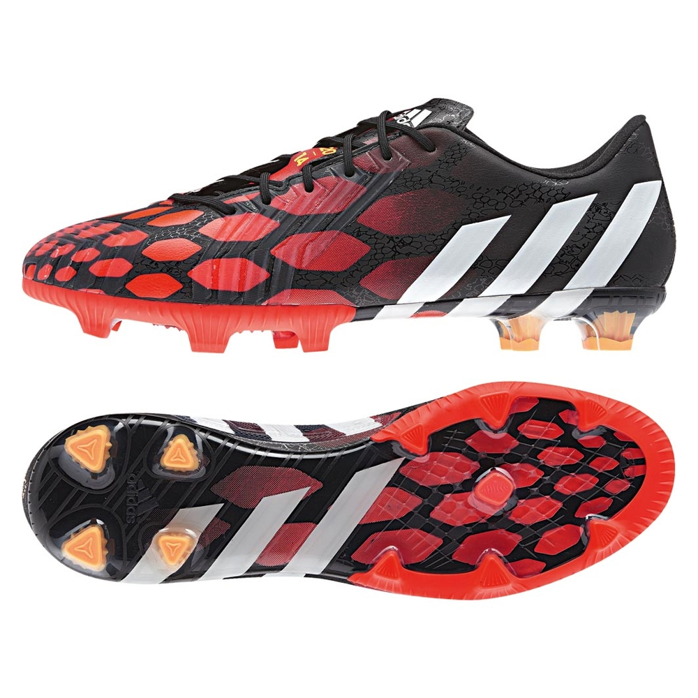 adidas red soccer shoes