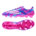 Adidas Soccer Cleats |FREE SHIPPING| Adidas M17677 | Adidas F50 adizero (Synthetic) TRX FG Soccer Cleats (Solar Pink/Core White/Solar Blue)