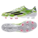 Adidas F50 adizero (Synthetic) TRX FG Soccer Cleats (White/Rich Blue/Solar Green) | Adidas Soccer Cleats |FREE SHIPPING| Adidas M17679