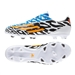 Adidas F10 Adizero-Messi Battle Pack  (Synthetic) TRX FG Soccer Cleats (Core White/Solar Gold/Black)