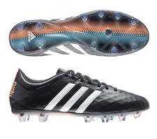 Adidas adiPure 11Pro FG Soccer Cleats  (Black/White/Flash Orange)