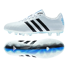Adidas adiPure 11Pro FG Soccer Cleats (White/Black/Solar Blue)