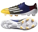 Adidas F50 Adizero Messi (Synthetic) TRX FG Soccer Cleats (Solar Gold/White/Earth Green)